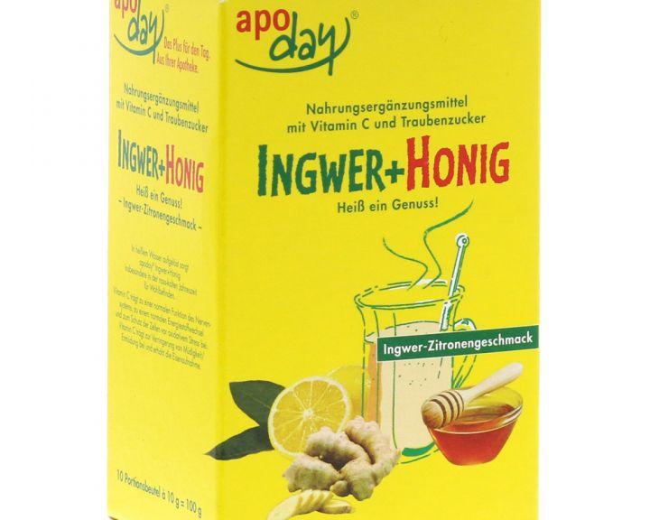 apoday® Ingwer+Honig
